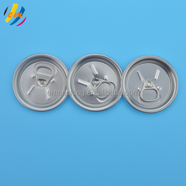 partial opening aluminum soda drink easy open end can lid 200#