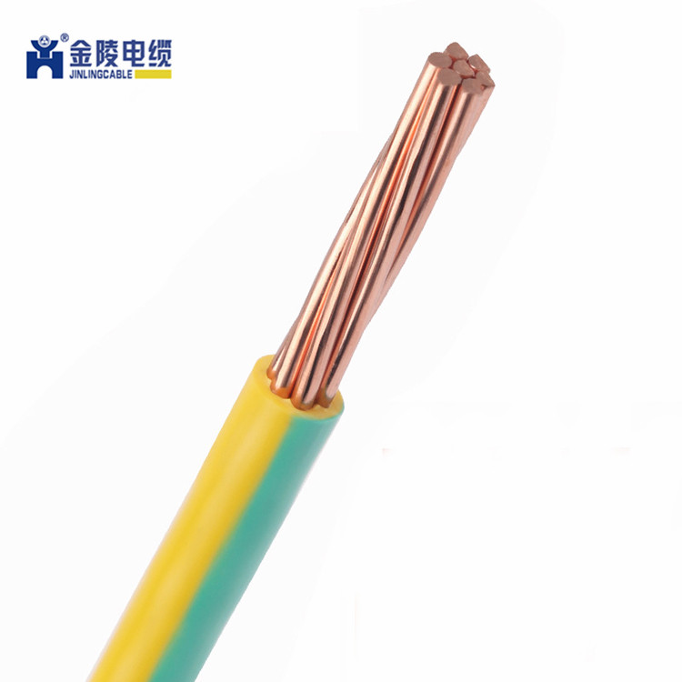 Green Yellow 10mm Single Core 6491X Cable Bonding Earthing  Wire ORDER PER METRE