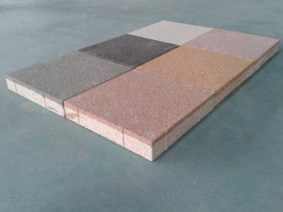 Quality assurance CE certification cheap anti-slip driveway paving stone