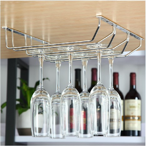 304 SS wine glass bottle drying rack for home usage