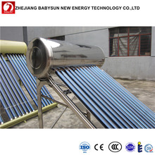 Solar thermal heat pipe glass tube home solar water heater, solar water heater price