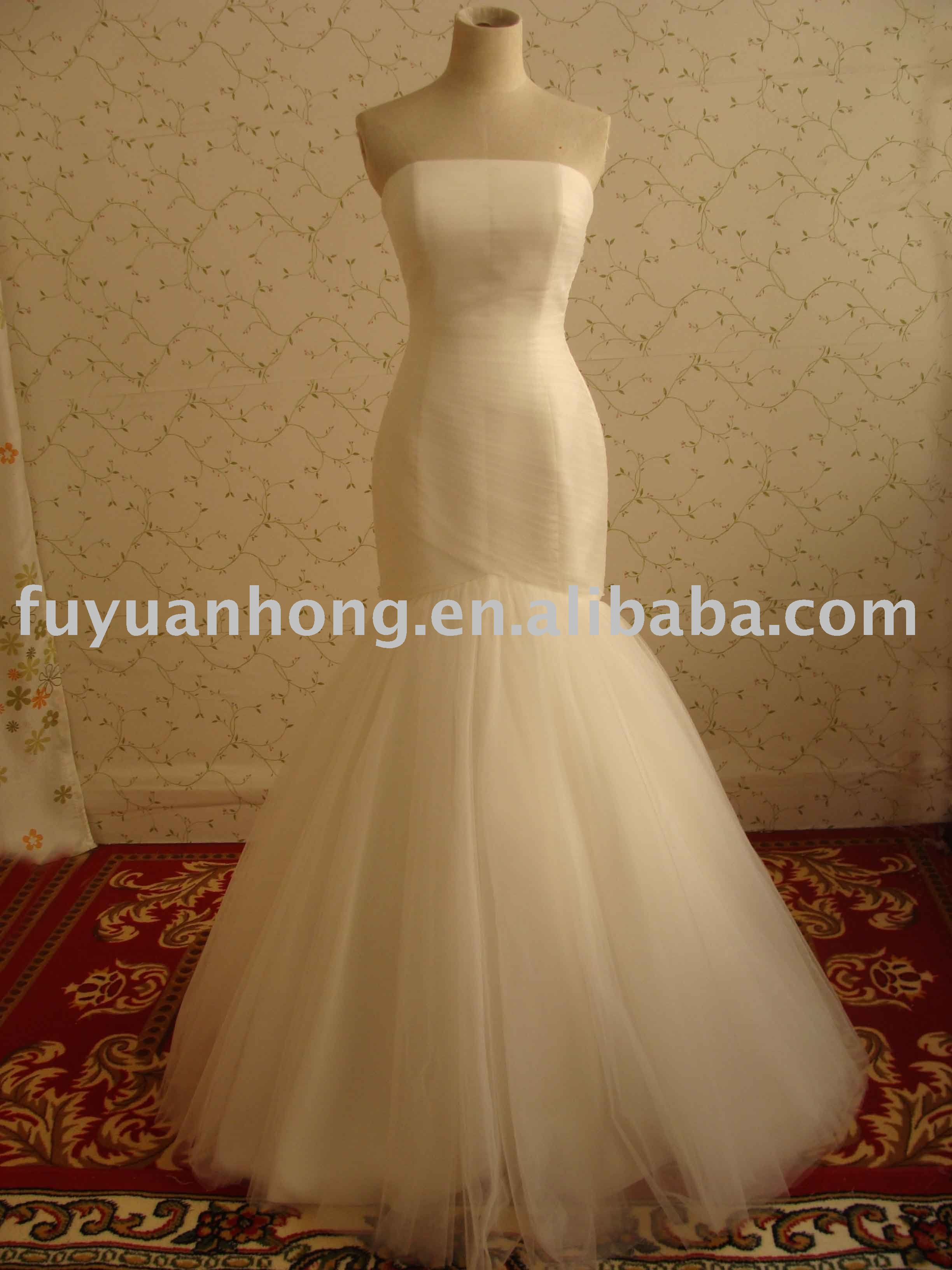 Fishtail Bridal Dress, Fishtail Bridal Dress Suppliers and ...