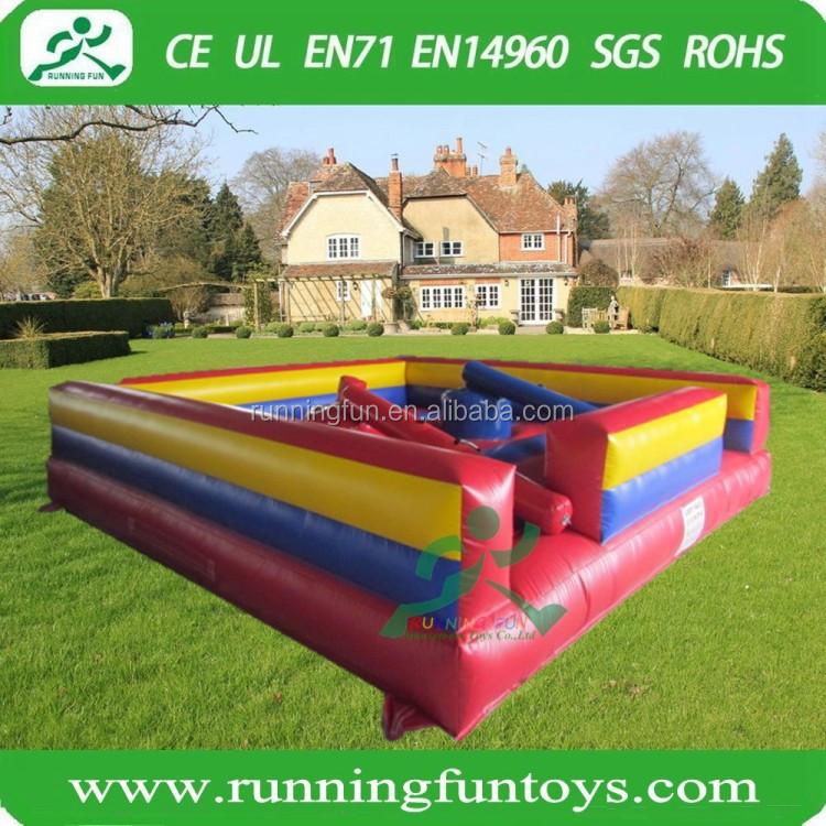 Hot Gladiator Joust Sticks Inflatable Jousting Arena