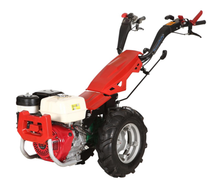 Quick-Reverse multi-function two wheel tractor with walking tractor implements