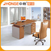 Simple Design MDFstraight Lightweight Morden Office Desk With 3 Drawers