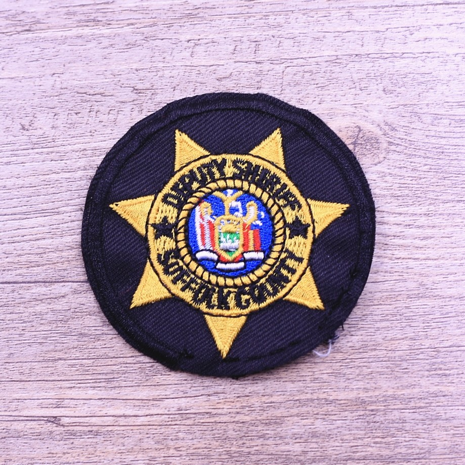 New design embroidered poker patches buy