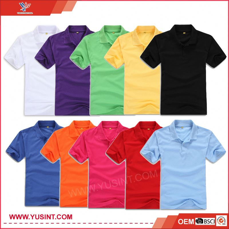 china suppliers clothing fitness 100% cotton hi vis polo shirt