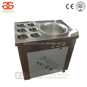 Fried Ice Cream Machine/Flat Pan Fried Ice Cream Machine/Ice Cream Cold Plate