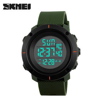 174b36b0291c Skmei 1213 Для Мужчин Цифровые Наручные Часы Модные Спортивные Часы Большой  Циферблат ...