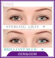 Wholesale mix 3 colors non prescription soft colored contact lenses for cosmetic use