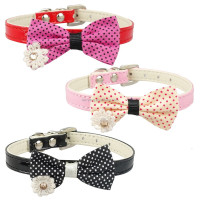 Dog collar bow tie bow tie collar for dogs
