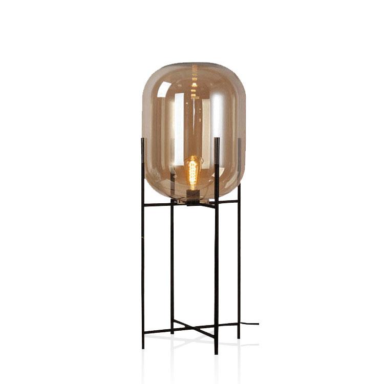Modern Designer Lamp Amber Glass Shade Four Tripod Floor Lamp Buy Floor Lamp Four Tripod Floor Lamp Glass Shade Floor Lamp Product On Alibaba Com