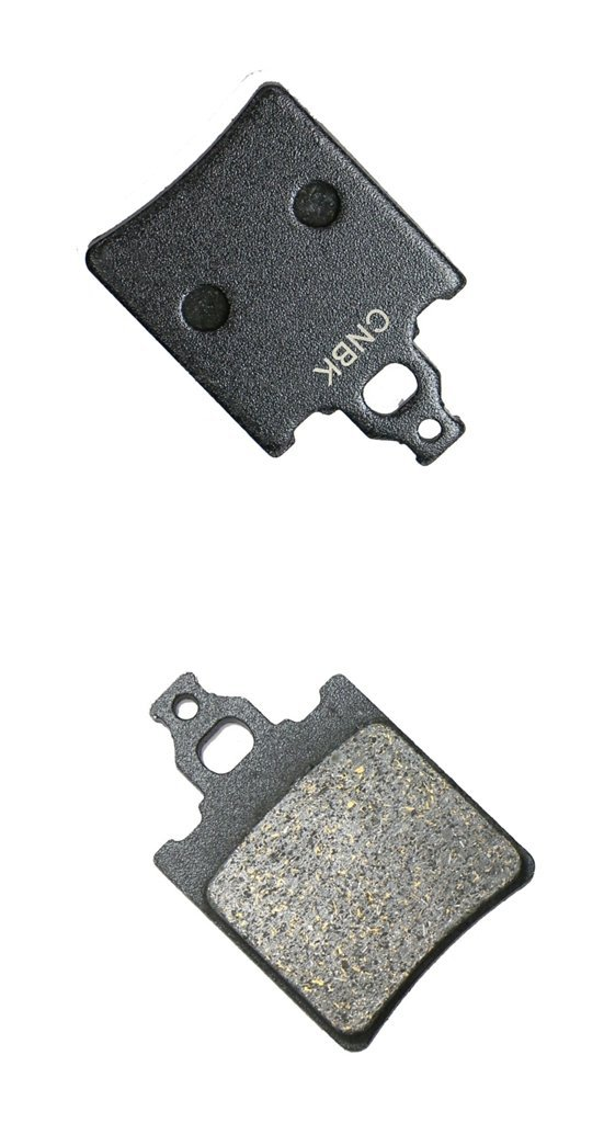 CNBK Front Left Brake Pad Semi-Metallic fit MALANCA Street Bike E2 125 1 Pair(2 Pads)