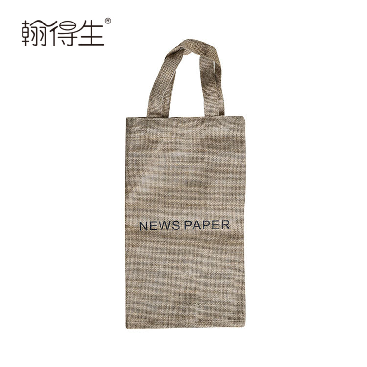 Wholesale cheap printed or embroidered logo newspaper delivery bags
