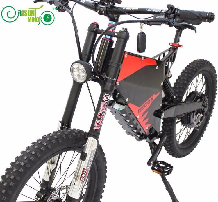 Risunmotor Customized E Motorcycle Style Super Ebike Electric 72v