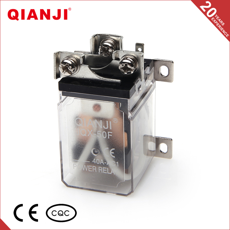 QIANJI Website JQX-50F 30A Relay 12 Volt DC Industrial Big Power Relay