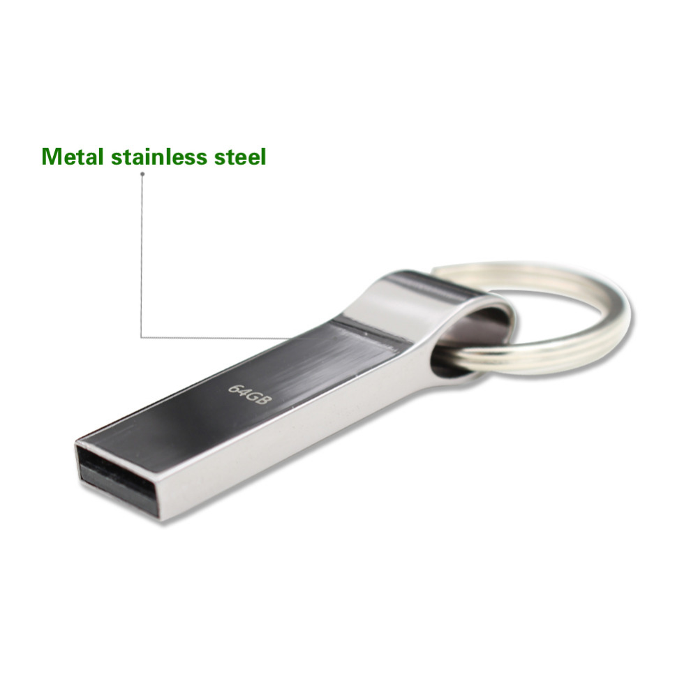 China Disk With Usb Manufacturers And Suppliers Flash Drive 2tb Pen Pendrive Waterproof Metal Silver On