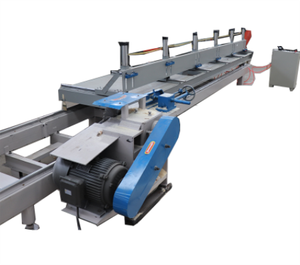 sliding table panel saw wood boards cutting edger sawmill machinery