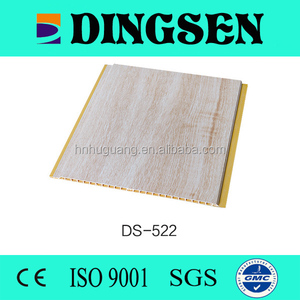 9mm building material pvc suspended interlocking ceiling panel for bathroom of lamination