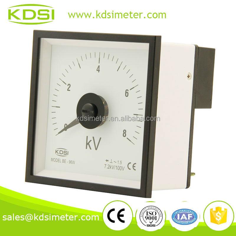 Be-96w Ac Voltmeter With Rectifier 8kv 7.2kv/100v Industrial ...