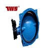 DN50~DN1800 ductile iron flanged concentric butterfly valve made in TWS china on enalibaba