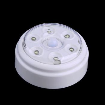 Alimentée Lampe Porte Automatique De Murale Led Capteur Batterie Sans Buy Éclairage Mouvement Par Fil Infrarouge Détecteur 6 Pir pGqSzMVLU