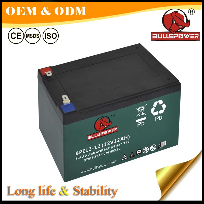 Green Power 12v 36v 12ah lead acid agm type battery made in China