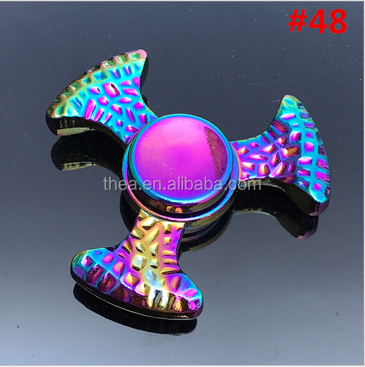 2017 new toy colorful outer <strong>bearings</strong> Anti Stress Fidget Spinner