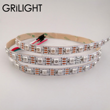 WS2812 WS2812B Addressable SK6812 putih led strip <span class=keywords><strong>12</strong></span> <span class=keywords><strong>V</strong></span> 24 <span class=keywords><strong>V</strong></span> digital led strip led pixel <span class=keywords><strong>cahaya</strong></span>
