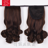 wholesale synthetic ponytail clip in hair extension