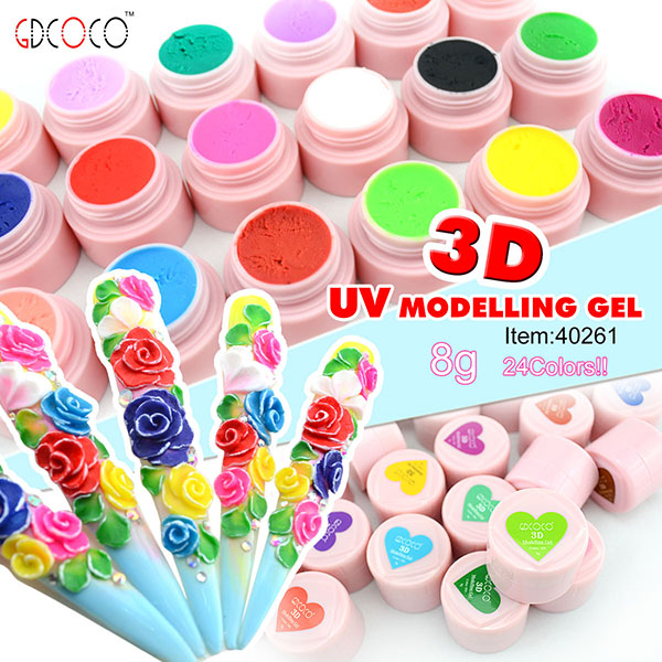 Best hot selling products of professional free acrylic nail art best hot selling products of professional free acrylic nail art designs 3d colorful uv modelling gel 40261j buy uv modelling geluv modelling geluv freerunsca