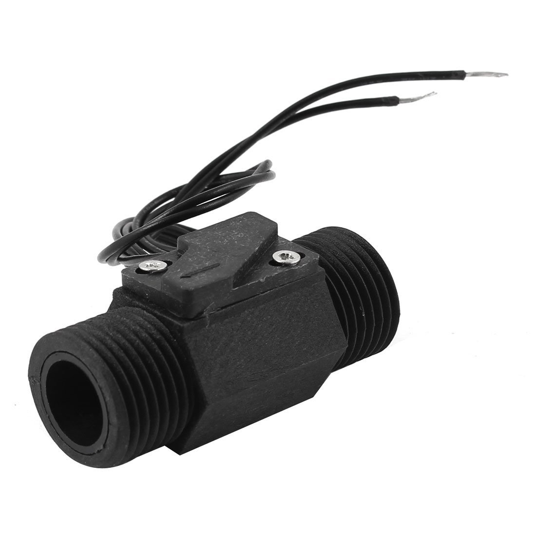 0.1A 100V Plastic Shell Liquid Water Flow Sensor Switches 0.75-5L/Min