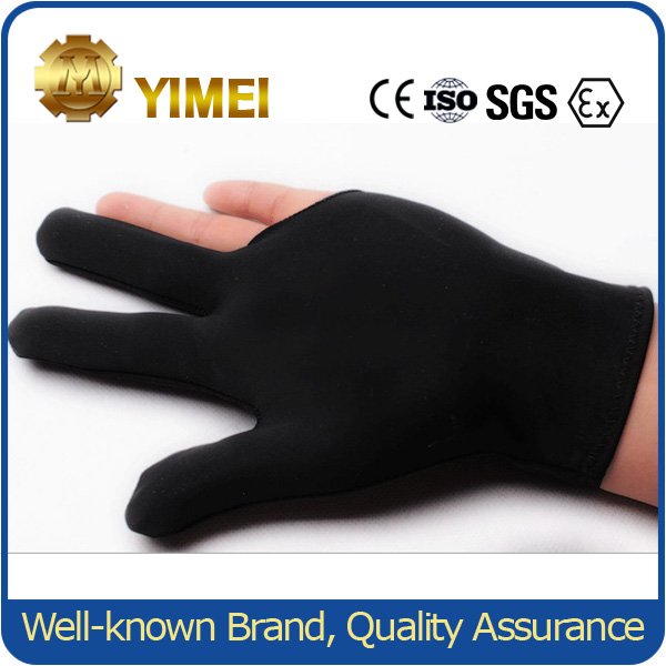 Professional 3 Fingers Billiard Pool Gloves