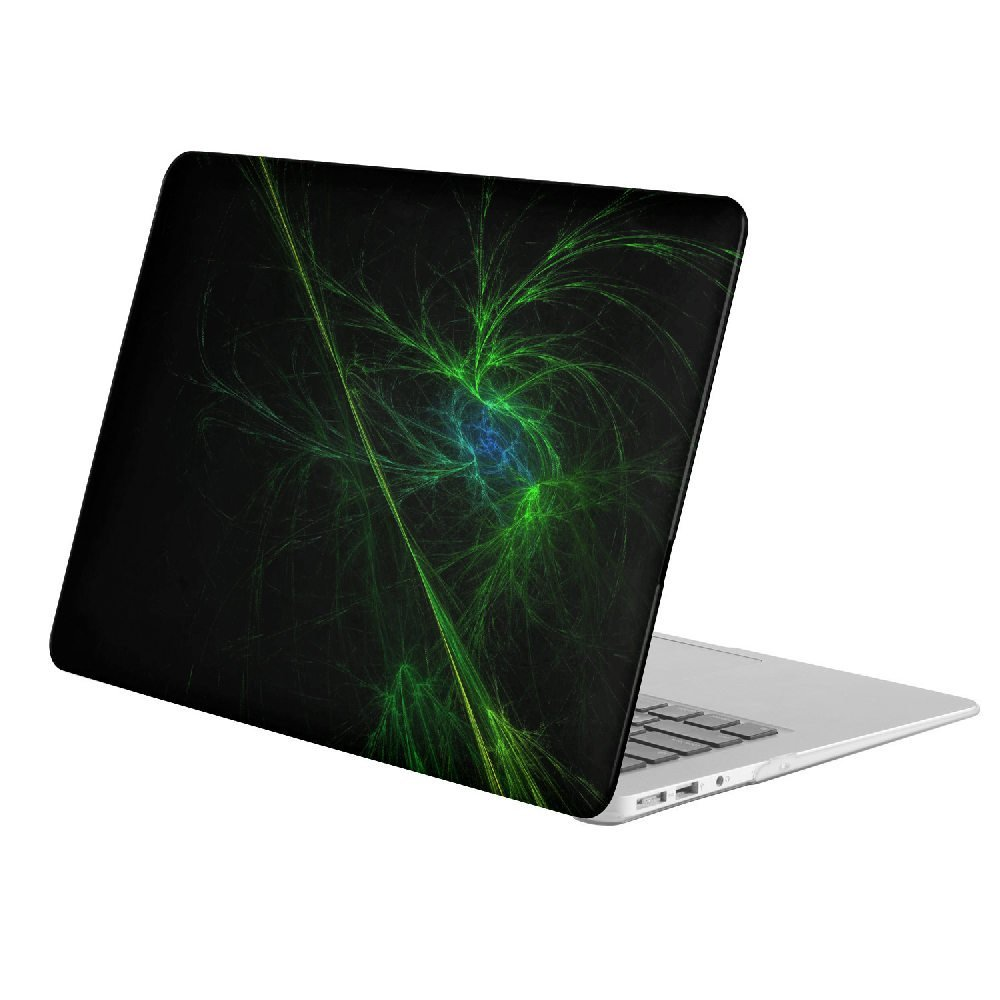 "KoolMac [ Full Body Hard Case ] [ Apple Old Macbook Pro 13"" with CD-ROM (Model: A1278) ] - Artistic Green"