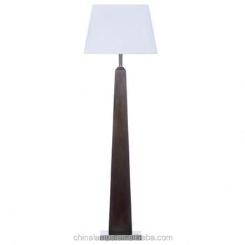 Hot Selling Modern Ul Cordless Black Wooden Hotel Floor Lamp For ...