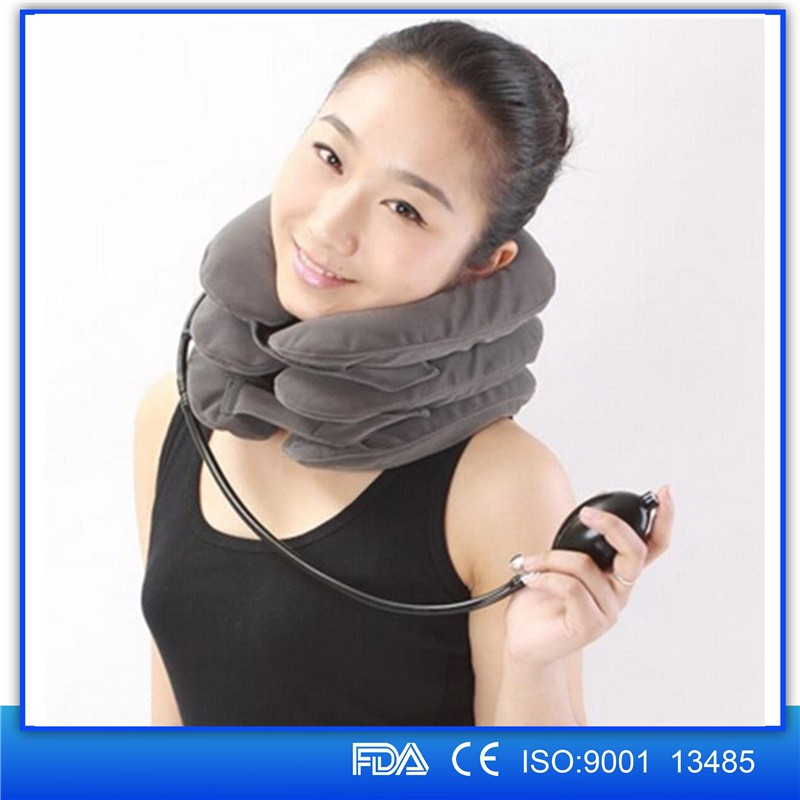 Hot sale Home Medical Equipment---Air Neck Traction/neck massager for Your Back And Neck Pain