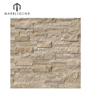 Wholesale supplier stacked stone exterior faux stone wall panels