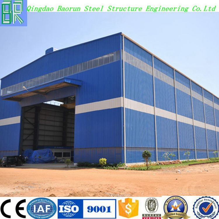Prefabricated Design Structural Steel Frame Warehouse