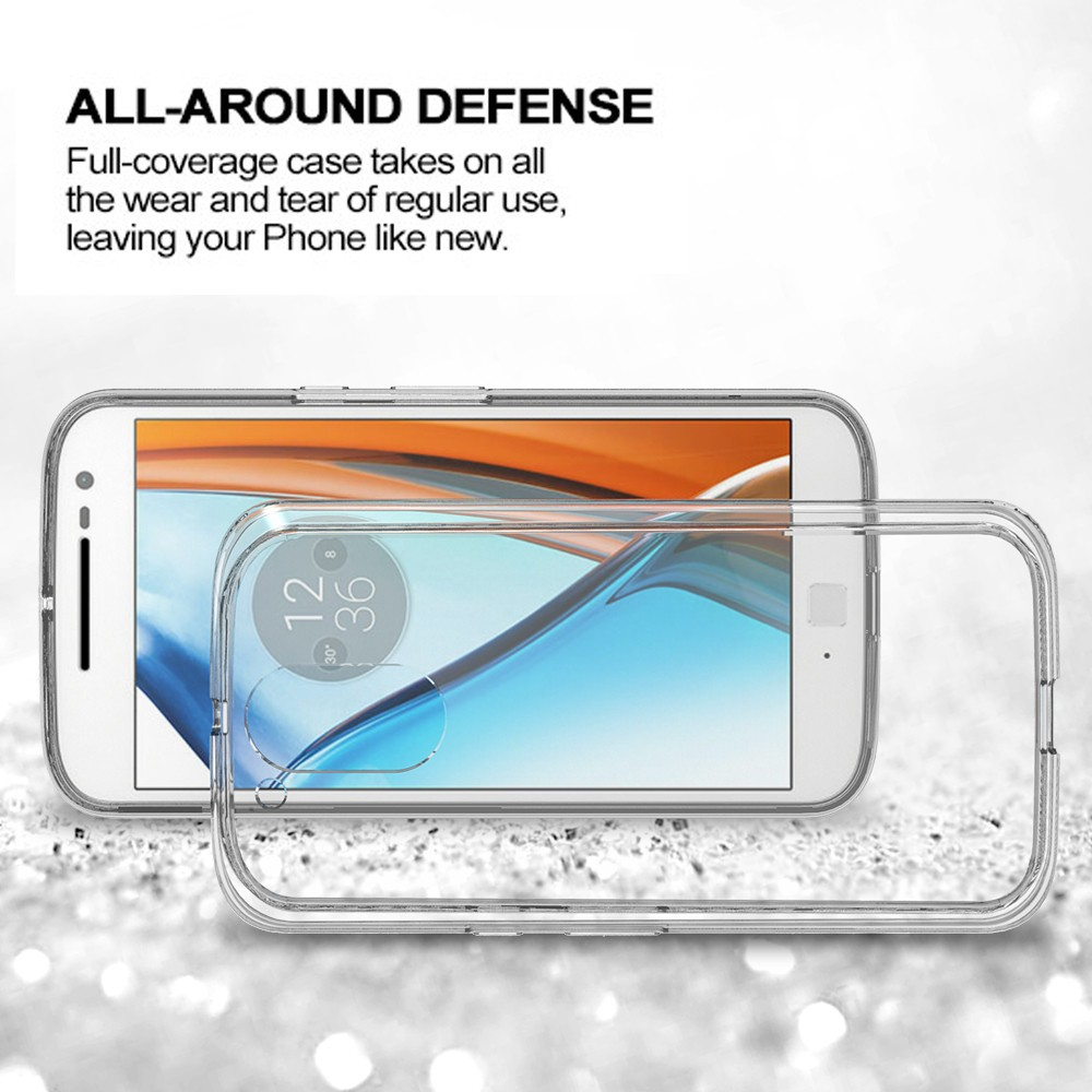 Top Selling Clear Hard Case in Alibaba for Motorola G4 Plus