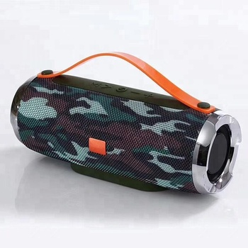 X86 Camouflage TF card U disk FM AUX IN Portable wireless speaker bluetooth