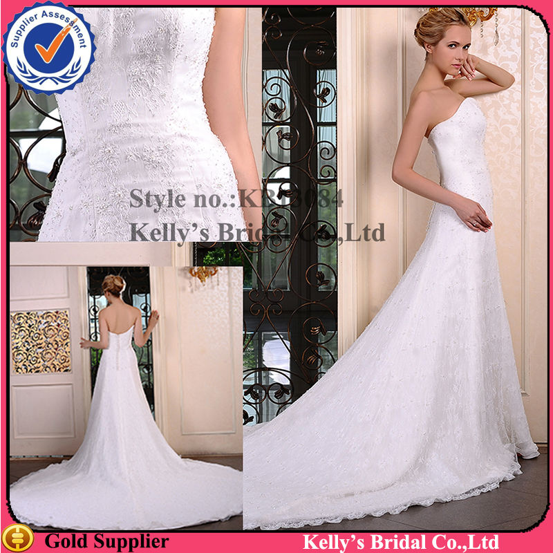Wedding Gown Candle Mermaid Tail Wedding Dress Bridal Gown - Buy ...