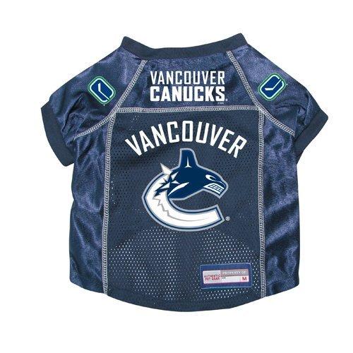 Vancouver Canucks Premium Pet Dog Hockey Jersey w/ Name Tag XL