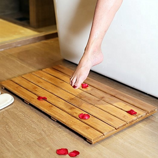 Waterproof-Bamboo-Deluxe-Shower-Floor-Bath-Mat
