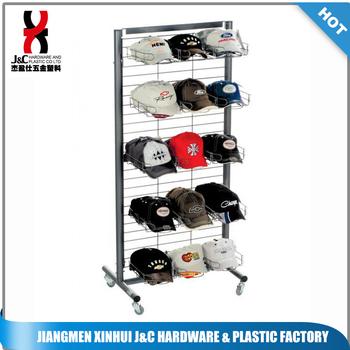 2c9460eca14 New Floor Standing Baseball Cap Hat Rack Display - Buy Hat Stand ...