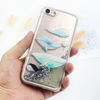 Free Shipping Luxury Case Silver Pearl Quicksand Glitter Liquid Cover For iPhone X 10 Case