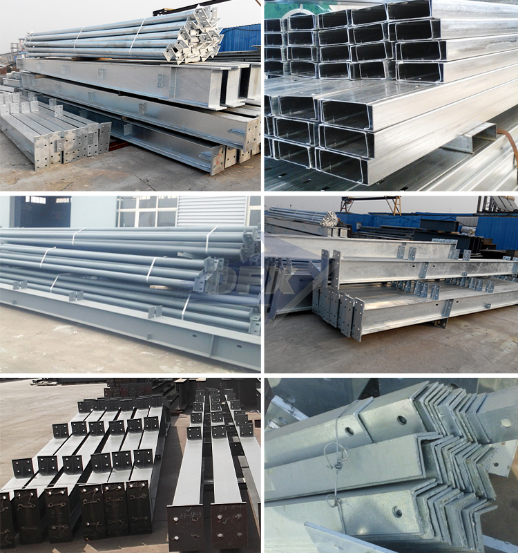 Insulated Cladding Sheds Storage Outdoor Structure Construction Steel Warehouse