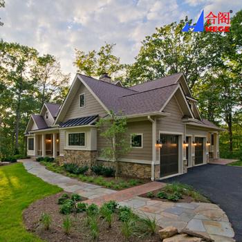 Flat Pack Prefab Homes/Luxury Prefabricated Villa House/kit Set Prefab Homes