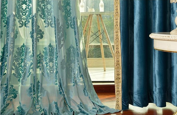 Guangzhou Curtains Design/living Room Curtains/velvet Curtains ...