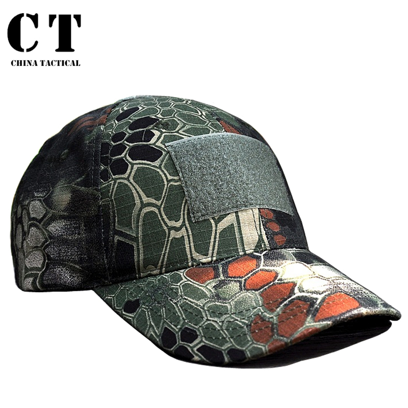 96b9f8648edde Get Quotations · Airsoft Paintball Military Cap Tactical Camouflage Men s  army Python Pattern Hunting Women Summer Fashion Hat Outdoor