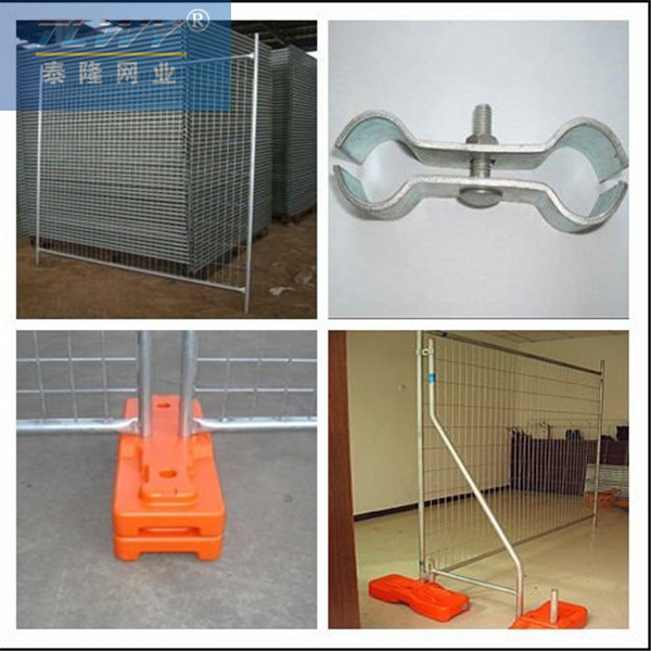 Plastic temporary fence roll